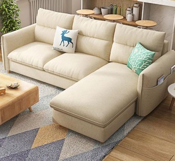 Modern Nordic Fabric Sofa