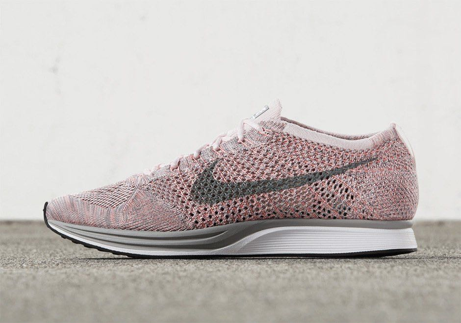 413578c8fb4a Nike Flyknit Racer Macaron Pack Strawberry Pink