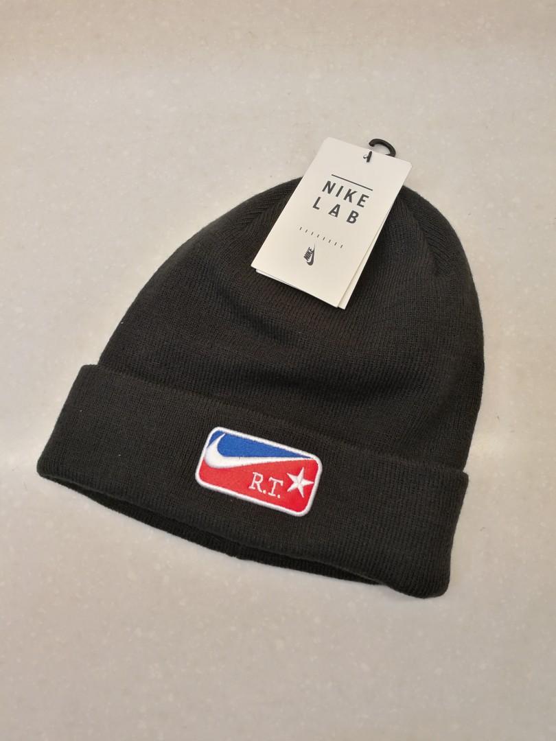 e0ff1c07c58d5 Nike NikeLab X RT Riccardo Tisci Unisex Beanie Hat Black Nike 943081 010  冷帽not Supreme