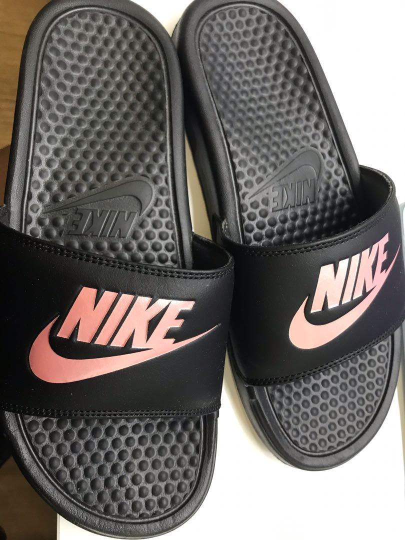on sale 9f04e f7b75 Nike Slippers, Women's Fashion, Shoes, Flats & Sandals on ...