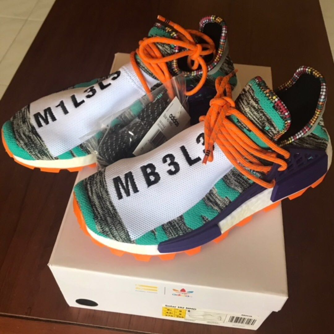 c6234aa78 PHARRELL WILLIAMS SOLARHU NMD SHOES