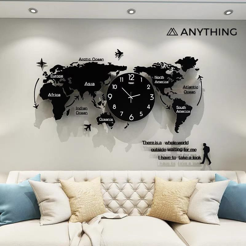 Po Cny Clearance Sale Here Creative Wall Clock Furniture Others