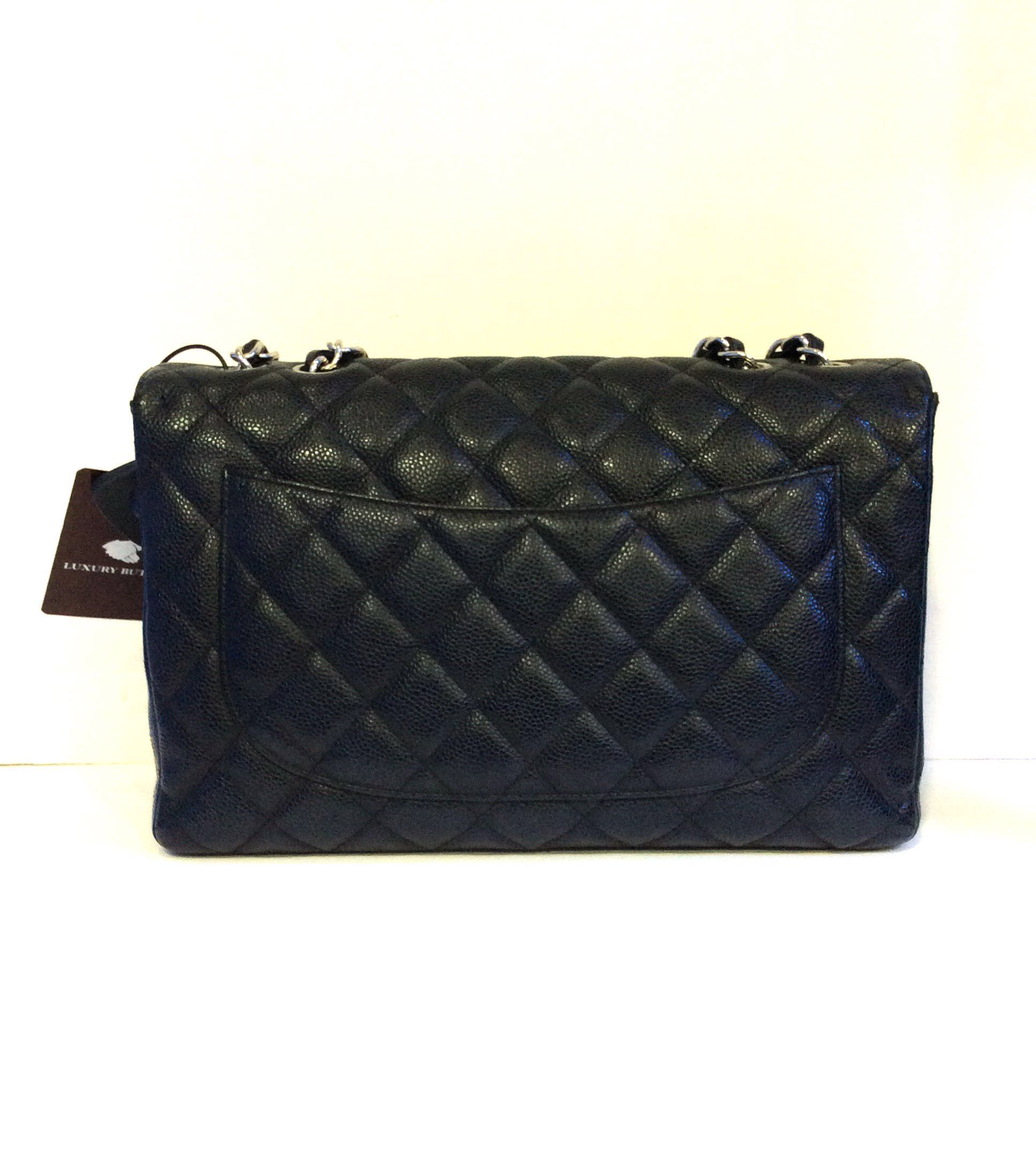 0f9b8d80dafe Preloved Chanel Classic Flap Caviar Leather Bag, Women's Fashion ...