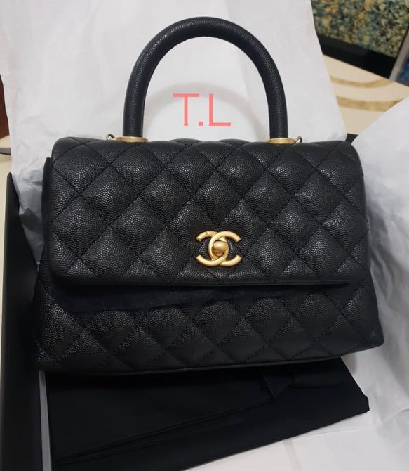 bc99cd8e7c3e Preloved Chanel Coco Handle - RARE, Luxury, Bags & Wallets, Handbags on  Carousell