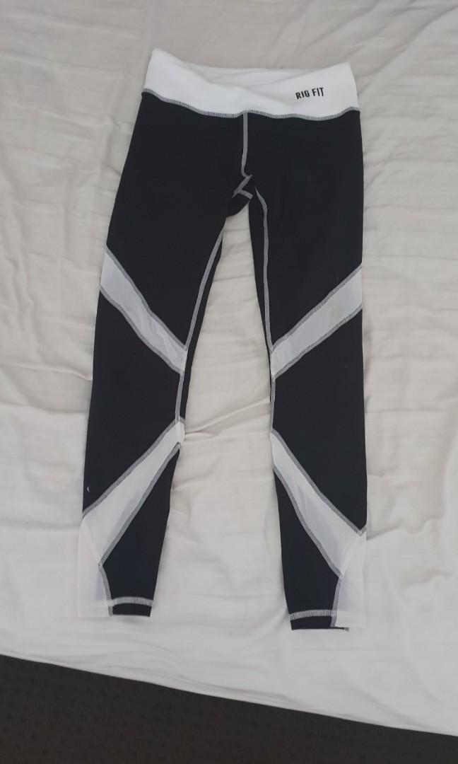 Rig fit compression tights xs