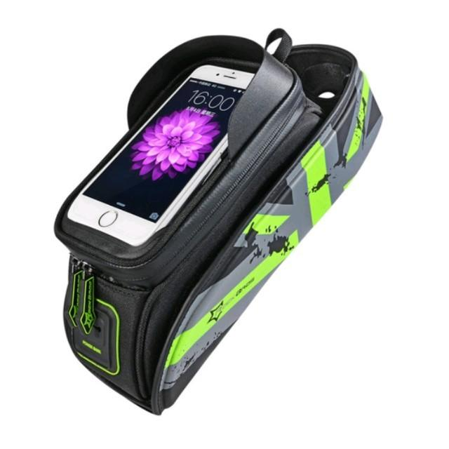 RockBros front tube bag with phone holder