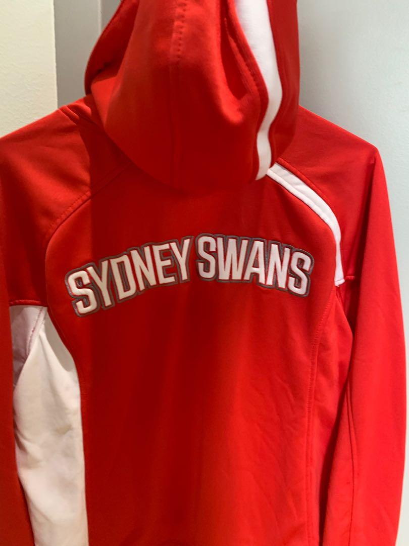 Sydney Swans hooded jumper - size 14 - brand new and unused condition