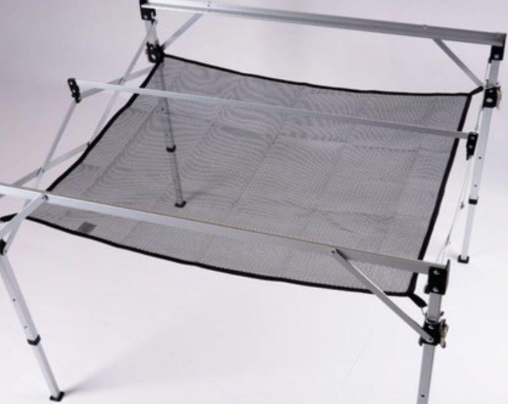 適用TAB-980H 蛋捲桌下置物網 露營用品