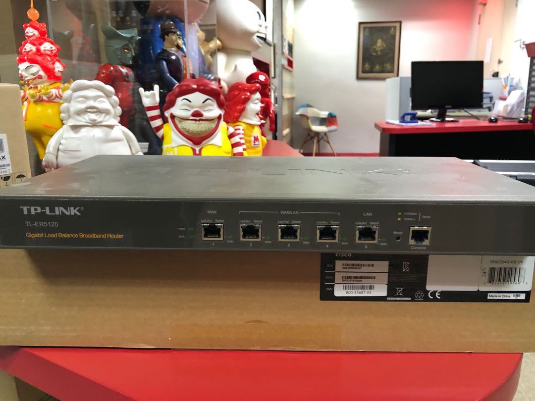 TP-Link Gigabit load balance broadband router  TP-ER1520