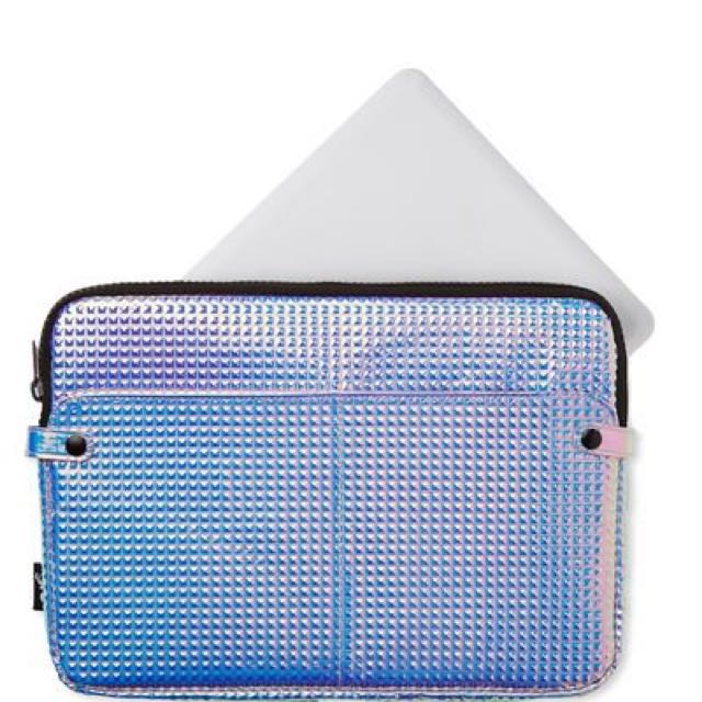 new arrival 4c93f e6377 TYPO HOLOGRAPHIC LAPTOP BAG/CASE