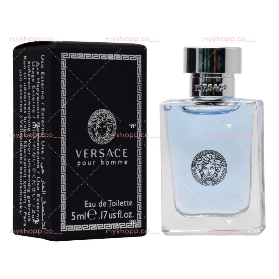 Versace Pour Homme Edt 5ml Original Miniature Perfume Health