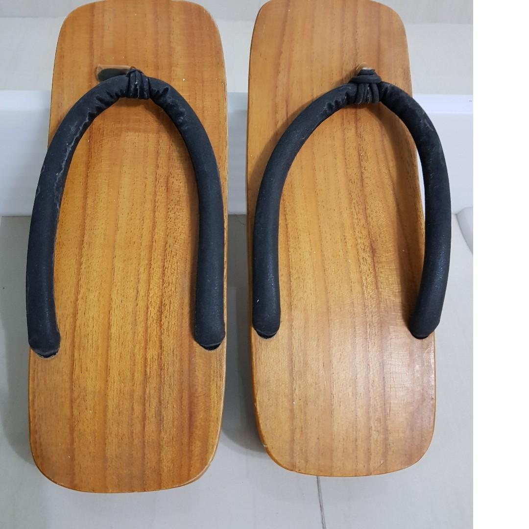 0f6c0d676b7c4 Vintage Japanese Wooden Sandals Shoes GETA (下駄), Men's Fashion ...