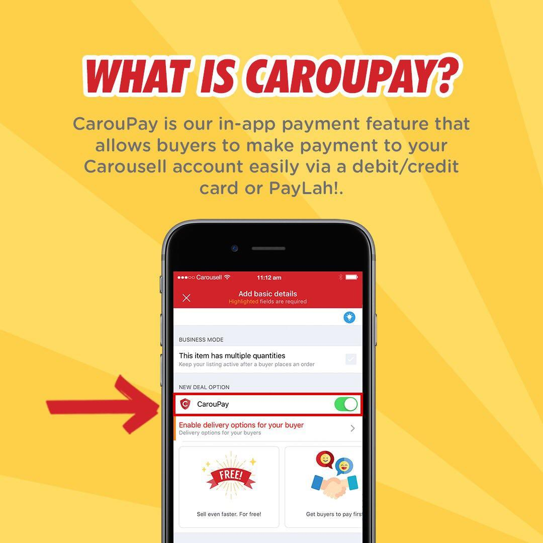 We heard you! CarouPay is now 100% free with 0% fees!