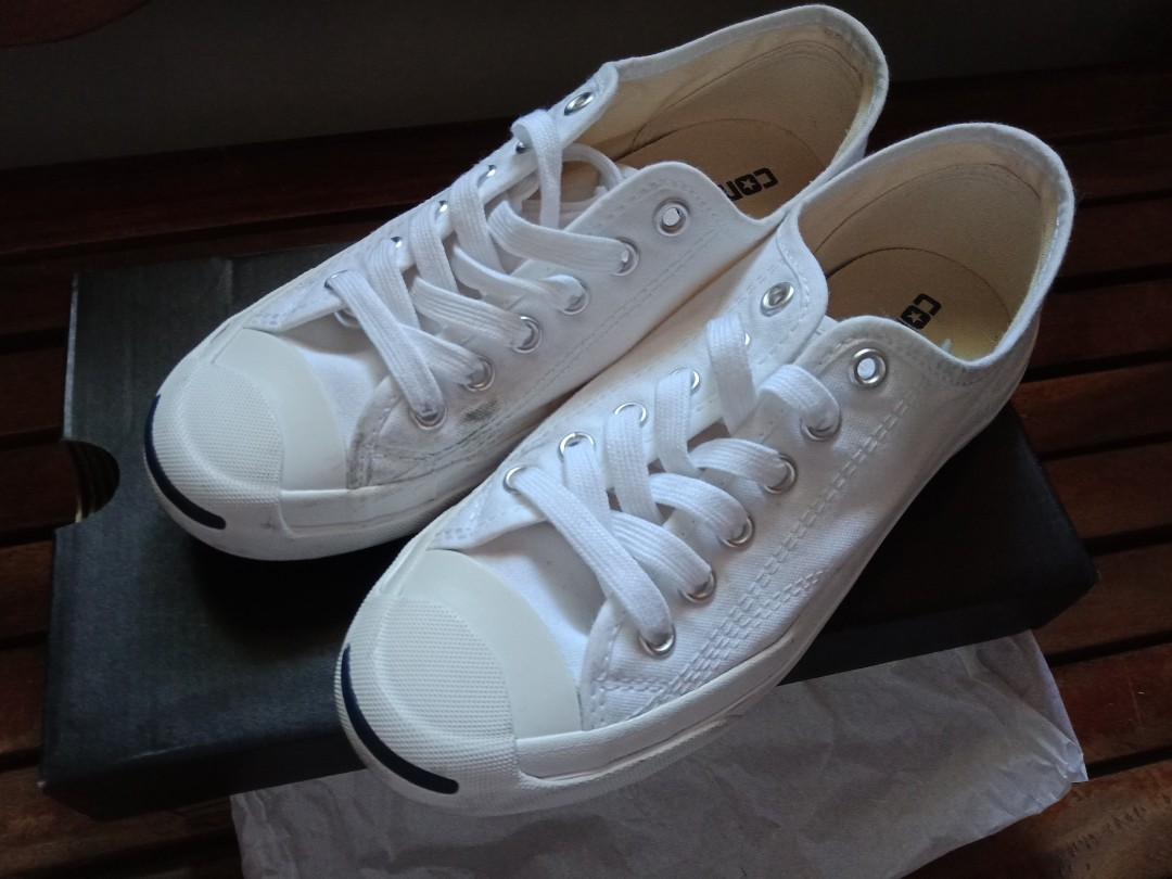 850aa0a43f8f4d WHITE Converse Jack Purcell (REPRICED)