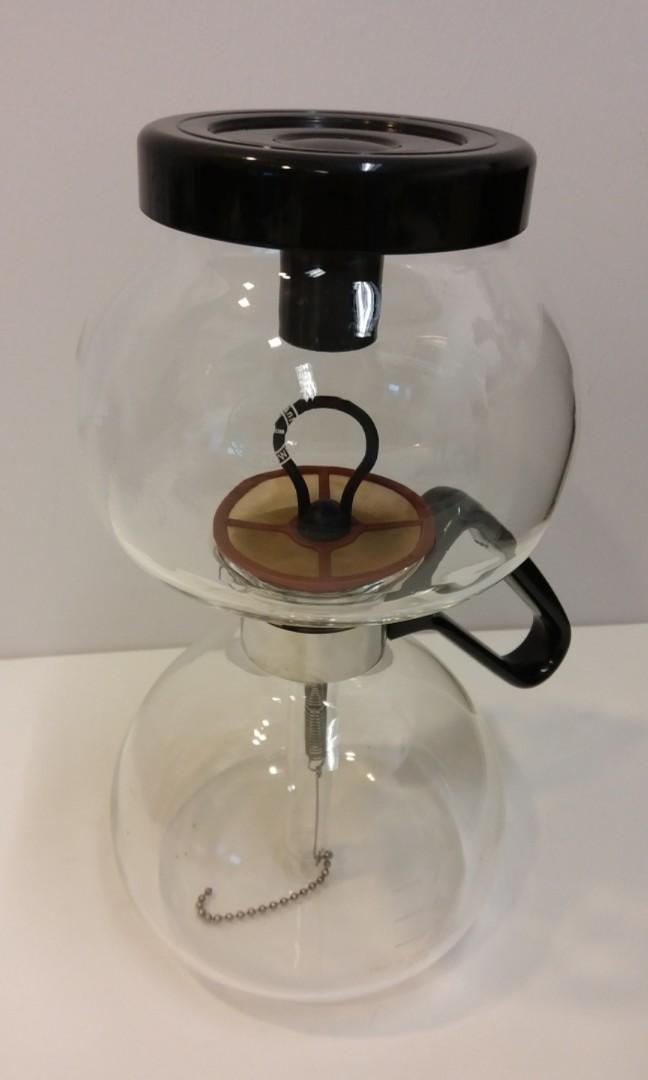 Yama 8 Cup Syphon Vacuum Gl Coffee Maker Home Liances On Carou