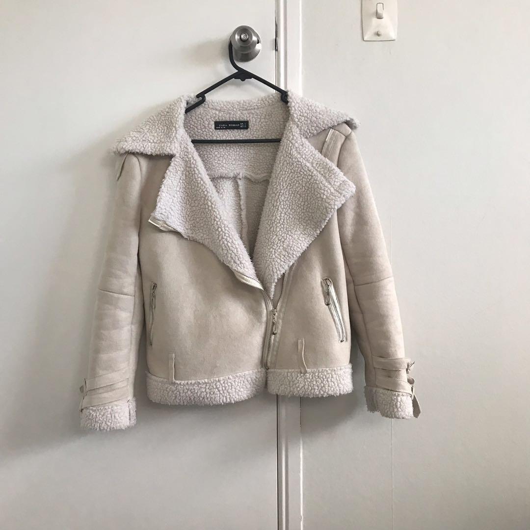 Zara Faux Biker Jacket