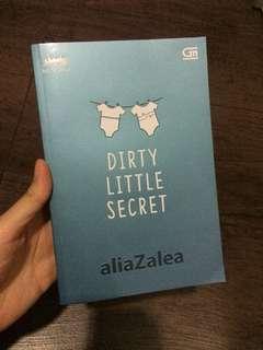 Novel Dirty Little Secret by Alia Zalea