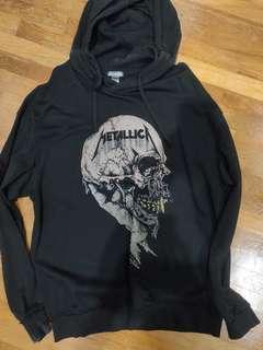 H&M Metallica black hoodie