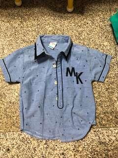 Max kool nautica short sleeve shirt - 2years 2t