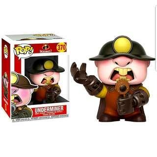 Funko Pop Underminer #370 Disney Pixar Incredibles 2 BNIB