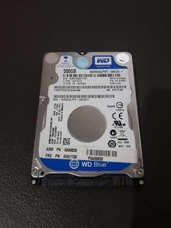 "2.5"" 500GB Internal Hard Drive"