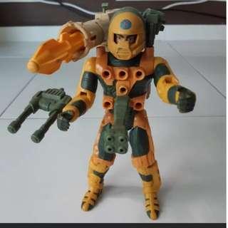 Used rare Centurions kenner 1986 Jake Rockwell Basic mode figure plastic figurine