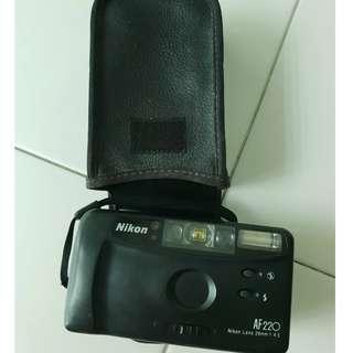 Used Not working Nikon AF220 camera photo film