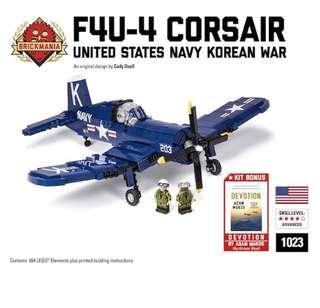 Brickmania 1023 - F4U-4 Corsair