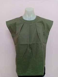 New Olive Green Top
