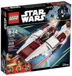 LEGO 75175 Star Wars A-Wing Starfighter (MISB)