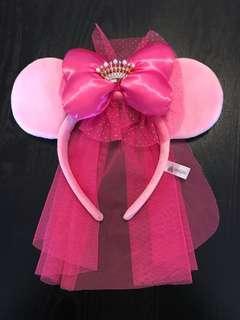 Minnie Mouse crown headband