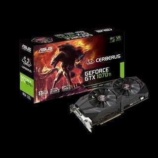 ASUS 1070 Ti Cerberus Advanced Edition A8G