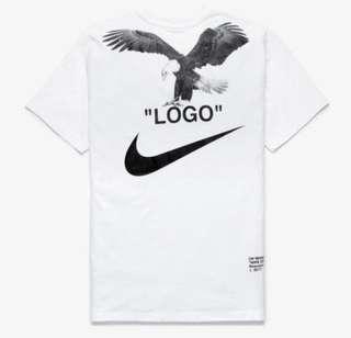 Nike Off White NR6 Tee White