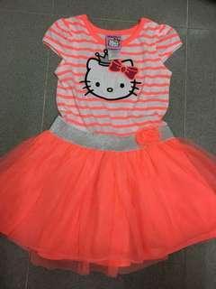 Hello Kitty 女童連身裙
