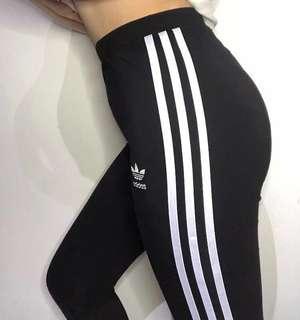 [Brand New] Adidas Original 3 Striped Tights
