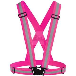 BN Safety Elastic Strip Vest - Pink