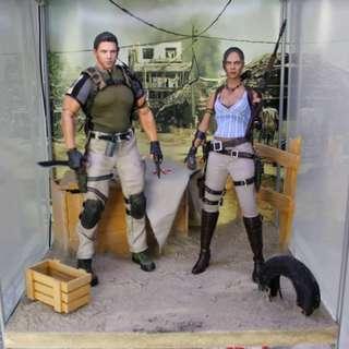 Resident Evil 5 Diorama