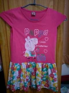 🚚 佩佩豬小碎花洋裝