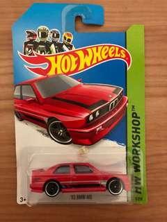 Hot wheels 92 BMW M3