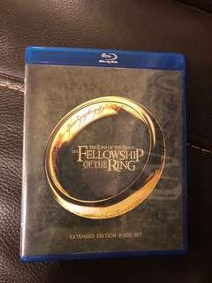 🚚 THE LORD OF THE RING TRILOGY (BLU-RAY) EXTENDED EDITION