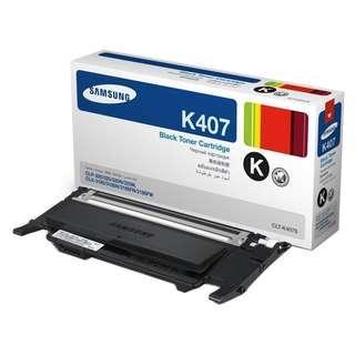 Samsung Laser Toner CLT-K407S Black