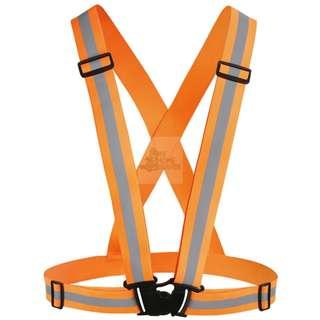 BN Safety Elastic Strip Vest - Orange