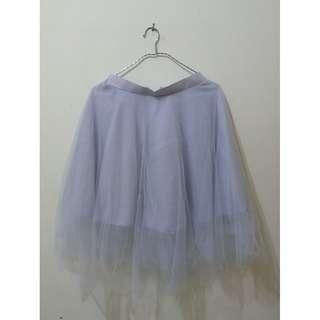 grey skirt - btm. 029