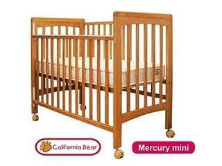 California Bear mini mercury BB 嬰兒床
