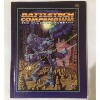 Hardcover Battletech Compendium & Price updates