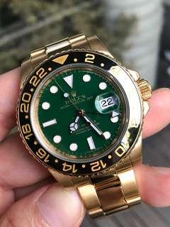 Rolex GMT 116718 Full Yellow gold