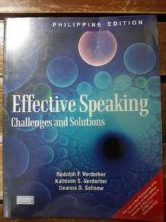 Effective Speaking Challenges and Solutions