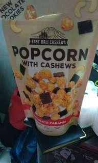 Dark chocolate popcorn #bersihbersih