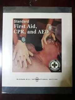 Standard First Aid, CPR and AED