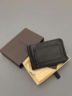 Authentic Louis Vuitton Utah Leather Money Clip